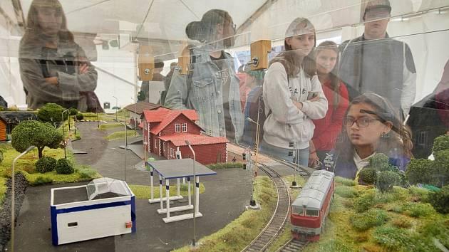 Smart train Fakulty aplikovaných věd ZČU.