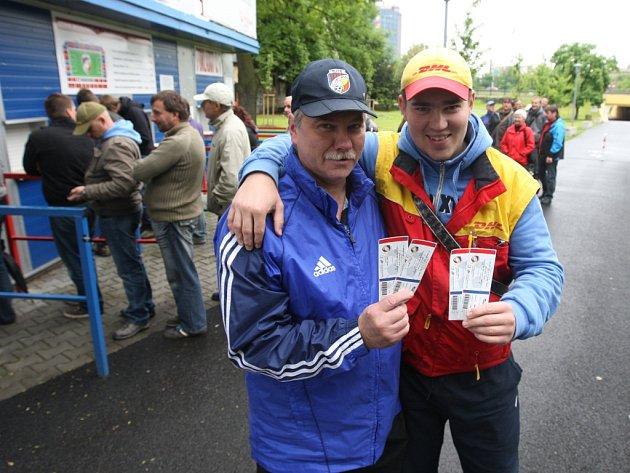 Fandové rozebrali zbývající lístky na Liberec.