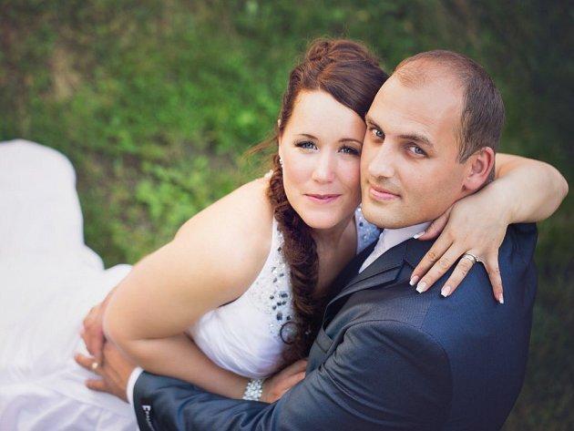 10. Veronika a Petr Kulhánkovi, Ledce, svatba: 19. července 2014, počet hlasů: 78