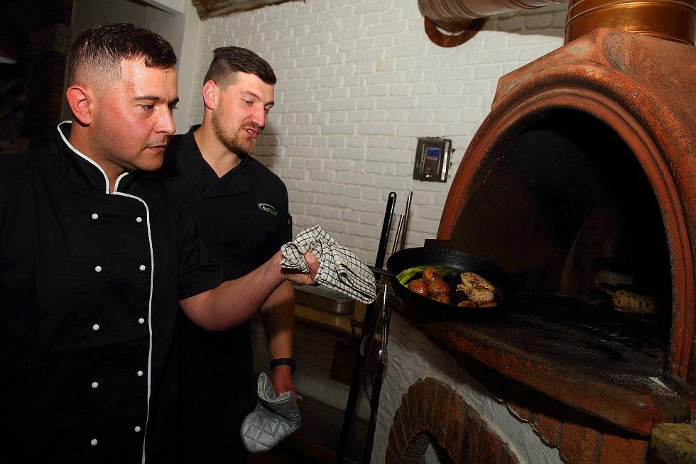 Plzeň - restaurace Šti pec