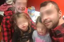 Rodina před tragickou nehodou.