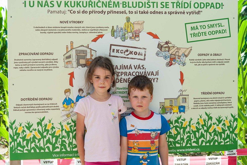 Ve Štěnovicích u Plzně je nově otevřeno kukuřičné bludiště. Bloudění v kukuřičném poli skýtá soutěž na čas nebo hádání tajenky. Bludiště se zalíbilo nejen dětem a dospívajícím, ale také dospělým.