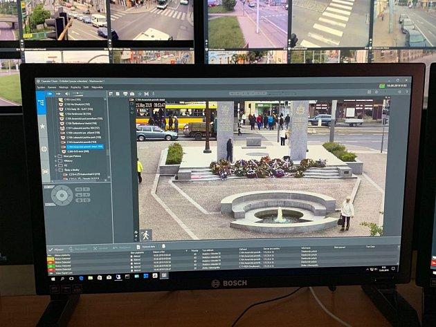 Chytrá kamera ochrání památník.