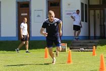 Jakub Brabec už maká s týmem v Rakousku.