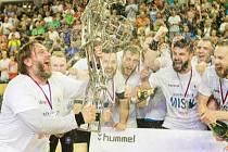 Házenkáři plzeňského Talent M. A. T. získali třetí titul v řadě