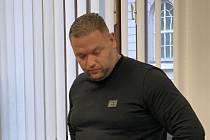 Obžalovaný Čeněk Pazderka.