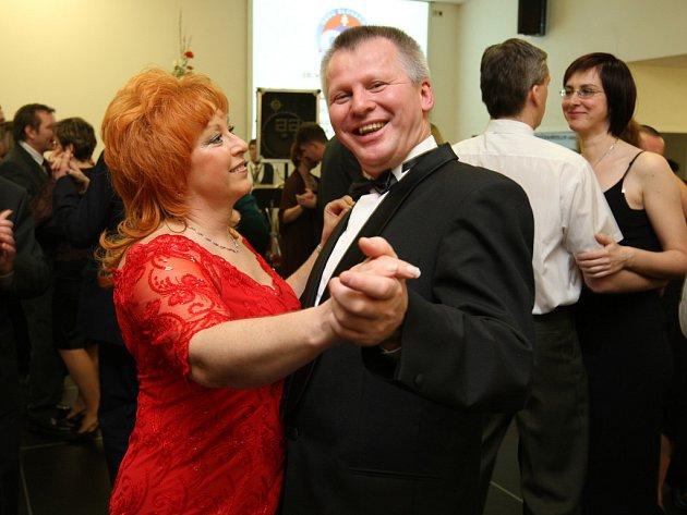 Pozvání na ples regionální obce Slováků přijal i zástupkyně slovenského velvyslance Jezefina Škorupová.