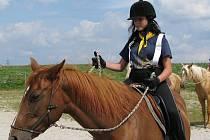 Děti z Plzeňska a dalších koutů republiky tráví v Pláních Týden s koňmi