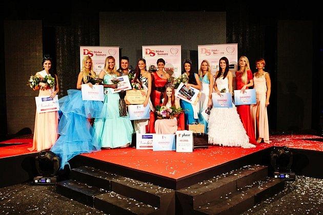 Slavnostní vyhlášení Dívky Šumavy 2013
