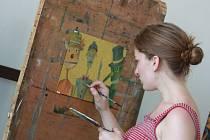 Kresba a malba jsou oblíbenými kurzy ArtCampu. Brzy obsazené jsou také hodiny  digitální fotografie