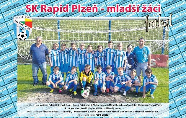 Mladší žáci SK Rapid Plzeň