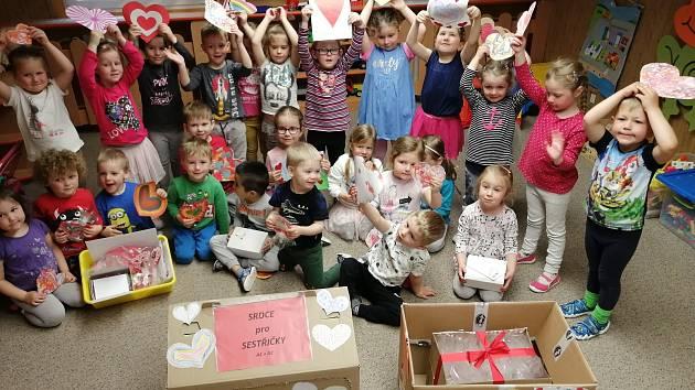 Děti ze 7. mateřské školky v Plzni.