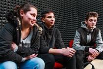 Kapela HBMJP, která vznikla před rokem,  se  v únoru zúčastnila hudební soutěže Múza