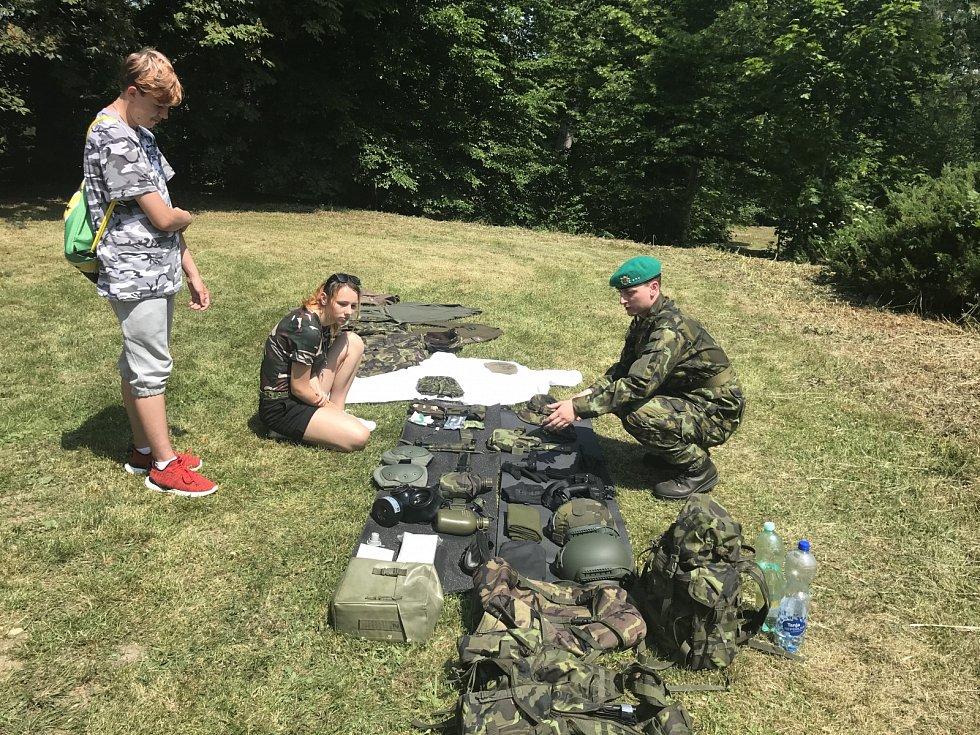 Blovický zámek přivítal legionáře