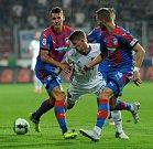 Fotbalisté Plzně porazili v zápase 5. kola první ligy doma Baník Ostrava 3:0.