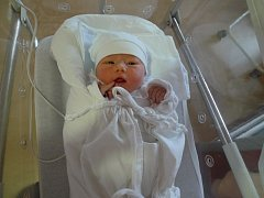 Maruška (3,55 kg, 51 cm) se narodila  30.srpna  ve 12:54 v plzeňské fakultní nemocnici. Z jejího narození se radují rodiče Eva a Josef Vlčkovi z Plzně
