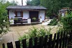 8. srpna 2002, chatová osada Na Lopatě ve Šťáhlavicích