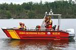 28 – Posádka každý den kontroluje největší rekreační oblasti v okolí přehrady.