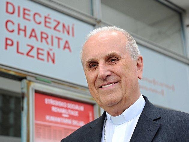 František Radkovský se stal prezidentem Diecézní charity Plzeň.