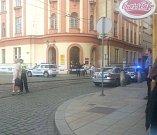 Policie evakuovala hlavní poštu v Solní ulici