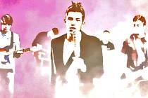 Snímek z chystaného klipu kapely