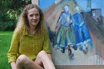 Babičky jdou do nebe. Tak se jmenuje obraz z cyklu Zpátky ke kořenům, který vytvořila Božena Kuchtová. Ve svých dílech zachytila Gerník, českou vesnici v rumunském Banátu