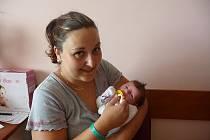 Kateřina (3,14 kg, 47 cm) se narodila 17. července v 10:43 v plzeňské fakultní nemocnici. Na světě svoji prvorozenou holčičku přivítali rodiče Jana a Pavel Průšovi z Tlučné
