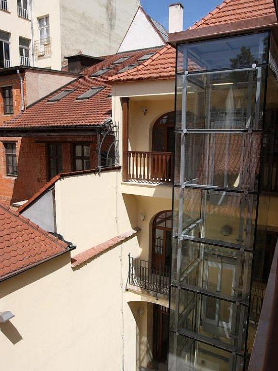 Budoucí Muzeum loutek v Plzni.