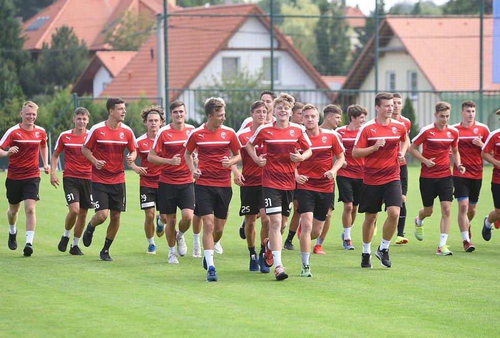 Juniorka FC Viktoria Plzeň - trénink ve Lhotě
