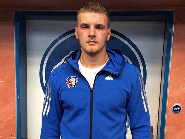 Útočník Tomáš Hrnka