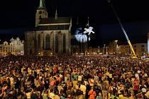 Obří loutky, edna z nejúspěšnějších akcí Plzně, Evropského hlavního města kultury.