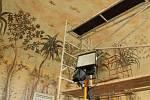 Taneční sál se vzácnými Tuvorovými freskami