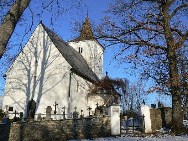 Kostel sv. Mořice dnes …
