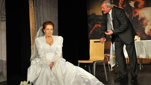 Ve hře Filumena Marterano aneb Manželství po italsku se představí Simona Stašová a Svatopluk Skopal.