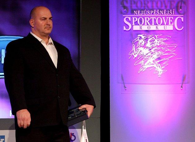 Pořadí soutěže Sportovní hvězda Deníku potřetí v řadě ovládl silový trojbojař Sokola Vejprnice Jaroslav Šoukal