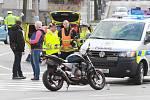 Na Velikonoční pondělí zemřel v Plzni motorkář.