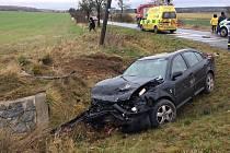Nehoda na křižovatce u Všerub