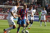 Plzeň, fotbal I.liga, FC Viktoria Plzeň vs. Zbrojovka Brno.