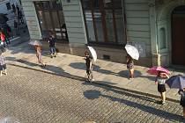 Natáčení znělky Stardance v Plzni