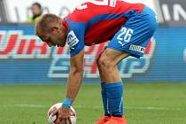Daniel Kolář vstřelil v utkání proti Mladé Boleslavi jediný gól Viktorie.