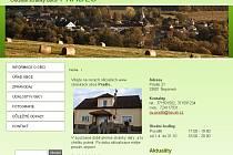Internetové stránky obce Prádlo
