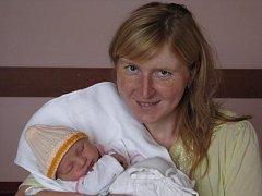 Alena (3,17 kg, 49 cm) se narodila 17. září v 11:05 ve FN v Plzni. Z jejího příchodu na svět se radují rodiče Renata a Tomáš Vildmanovi ze Stupna a sestřička Adélka (2 a tři čtvrtě)