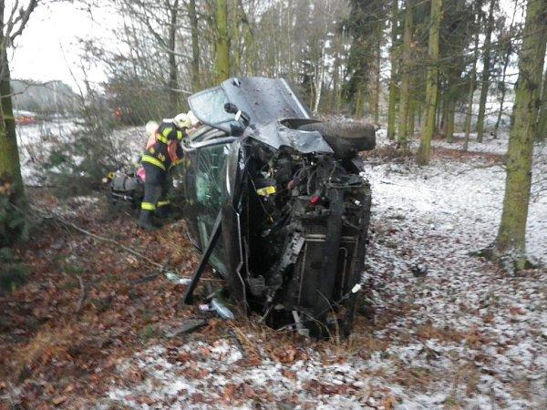 Nedělní nehoda uSulkova