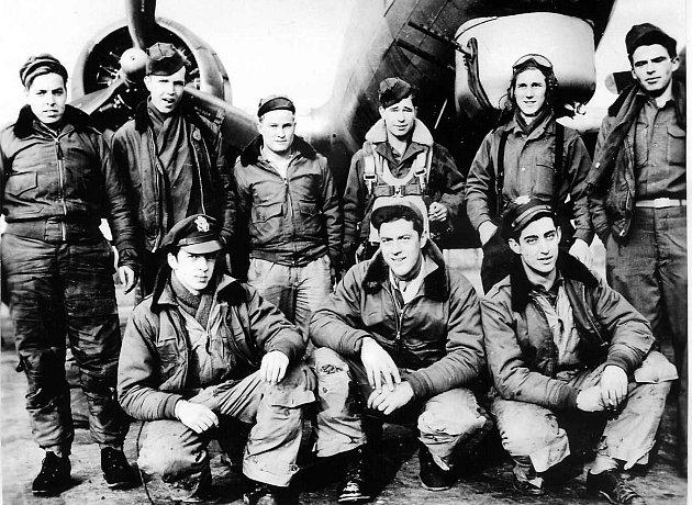 Posádka letounu Allena H. Fergusona, jejíž stroj B-17G ze svazku 398. Bombardment Group 8. US Army Air Force se zřítil dne 25. dubna 1945 u Lhoty u Dobřan.