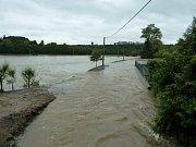 Povodeň v Plzni-Hradišti