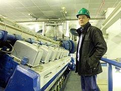 Plzeňská energetika. Na snímku obchodní ředitel David Hoffmann