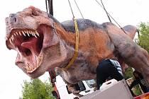 T-Rex na cestě do Košic