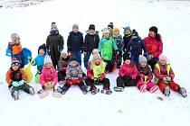 Děti z Vochovské mateřské školy