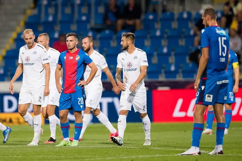 Pavel Bucha v ligovém utkání proti Slovácku.