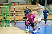 Futsalová liga: Interobal Plzeň – Hodonín.